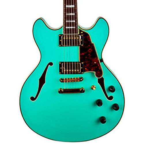 D'Angelico Ex-Dc/Sp Semi-Hollowbody Electric Guitar Sea Foam Green
