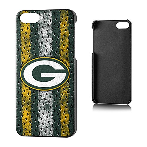 Team Pro Mark Licensed NFL Green Bay Packers Slim Series Protector Case for Apple iPhone 5/5S - Retail Packaging - Green/White/Yellow