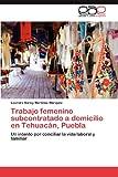 Trabajo femenino subcontratado a domicilio en Tehuacán, Puebla: Un intento por conciliar la vida laboral y familiar (Spanish Edition)
