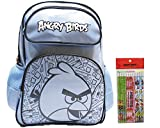 Angry Birds 12 Pencils & Angry Birds Blue Backpack 16