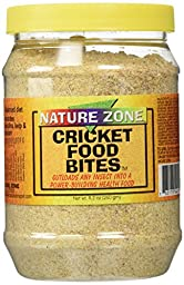 Nature Zone SNZ54412 Cricket Bites Soft Moist Food, 9.2 Ounce