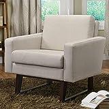 Coaster 900176 Linen-Textured Accent Chair, Beige