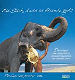 Ein Glück, dass es Freunde gibt! 2014 Postkartenkalender