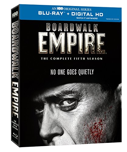 Blu-ray : Boardwalk Empire: The Complete Fifth Season (Full Frame, Slipsleeve Packaging, Digipack Packaging, Digital Copy, 3 Disc)