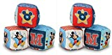 Disney Mickey Mouse Soft Blocks - 2 Sets
