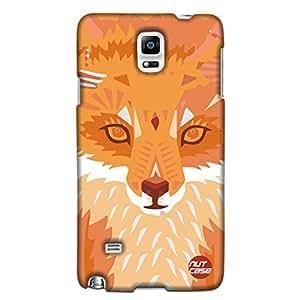 Wolf Cubism Art - Nutcase Designer Samsung galaxy N4 Cover