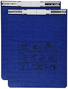 ACCO PRESSTEX Covers w/ Hooks, Unburst, 9 1/2 x 11 Sheets, Dark Blue (54113)