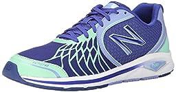 New Balance Women\'s WW1765V2 Walking Shoe, Purple/Green, 9 B US