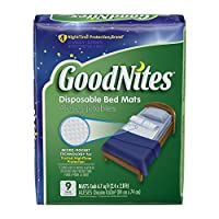 GoodNites Disposable Bed Mats, 36 Count from Goodnites