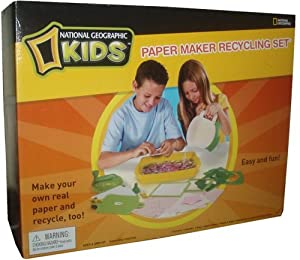 National GeographicTM Paper Recycling Kit [Toy]