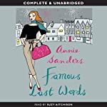 Famous Last Words | Annie Sanders