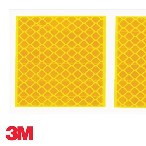 3M Amber Segmented ECE104 Approved Curtain Tape 50M roll