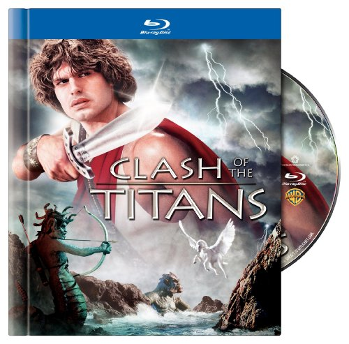 Cover art for  Clash of the Titans (Blu-ray Book Packaging)