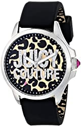 Juicy Couture Women's 1901143 Jetsetter Analog Display Quartz Black Watch