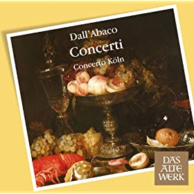 Dall'Abaco : Concerti a pi� Istrumenti Op.5 [c1719], Concerto No.6 in D major : III Ciaconna