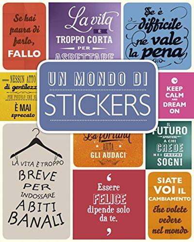 Un mondo di stickers Con adesivi PDF