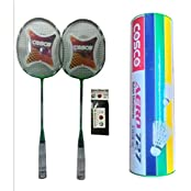 Cosco CB 119 Combo Baminton Kit WITH FREE SPORTSHOUSE WRIST BAND