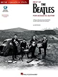 Best of the Beatles for Acoustic Guitar (Guitar Signature Licks) Bk/online audio