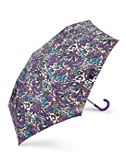 Per Una Blurred Leopard Print Umbrella