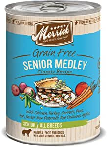 Merrick Senior Medley Dog Food 13.2 oz (12 count case)