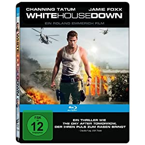 White House Down-2 Disc-Steelbook [Blu-ray] [Import allemand]