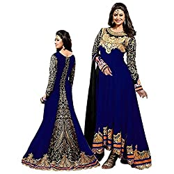 Shree Ganesh Women's Georgette Unstitched Dress Materials [D47]