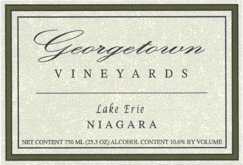 Nv Georgetown Vineyards Lake Erie Niagara 750 Ml