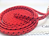 CablesFrLess (TM) 10ft Flat Braided Micro USB Charging / Data Sync Cable fits most Android Phones and Tablets Samsung Galaxy S3 S4 Reverb Note Tab Google Nexus Kindle Nokia Lumia HTC One ASUS LG G2 Pantech Blackberry Motorola Sony Xperia etc. (Red)