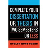 Thesis Versus Dissertation