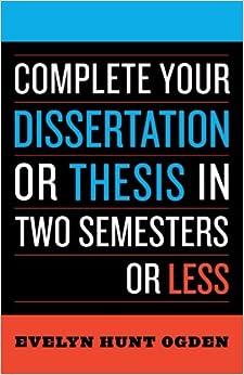 thesis advisor