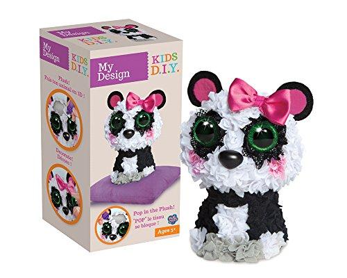 Orb Factory My Design 3D Panda Plüsch Spielzeug (Mehrfarbig) Picture