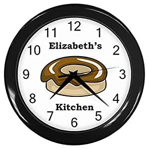 Personalized Donut Kitchen Wall Clock