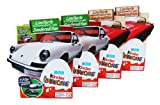 Kinder Surprise Egg Chocolate 20 g Special Edition with 4 eggs PORSCHE (pack of 4)