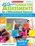 25 Quick Formative Assessments for a...