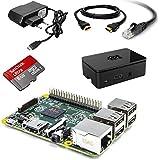 Raspberry Pi Kit de démarrage Carte Mère Raspberry Pi 2 Type B (avec Carte microSD, Câbles, Alimentation)