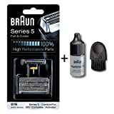 Braun 51S & Cutter Combi Pack Series 5 with cleaning brush 6cm and oil 7ml