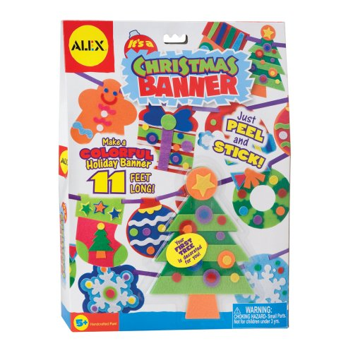 ALEX® Toys - Craft It's A Christmas Banner 188X
