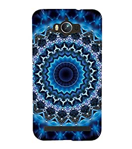 iFasho Animated Pattern design colorful flower in royal style Back Case Cover for Asus Zenfone Max