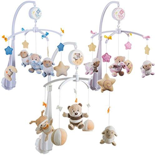 Baby Musikmobile Eischlafhilfe BUBU / PETRILLA / PETI (Blau = Peti)