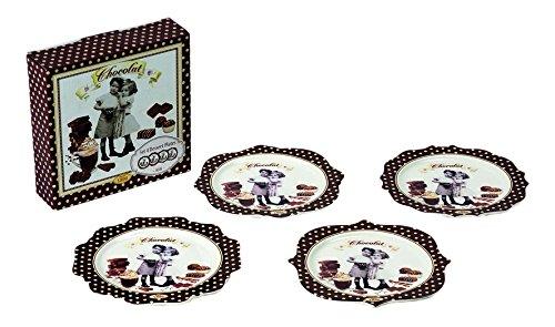 Assiettes À Dessert Jd Diffusion 8001544008394 Moins Cher En Ligne