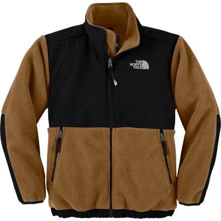 43a81c51d The North Face Denali Fleece Jacket - Boys' R Bronx Brown, S - Riot ...