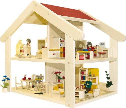 Rülke Holzspielzeug 23681 Haus Filius, montiert