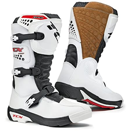 TCX - Bottes cross - COMP KID - Couleur : Blanc - Pointure : 38