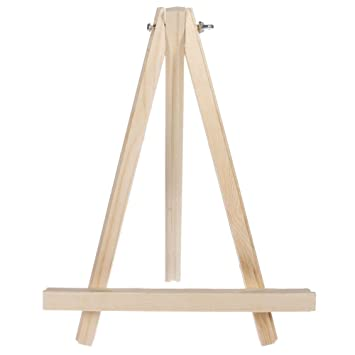 wooden display easel 1