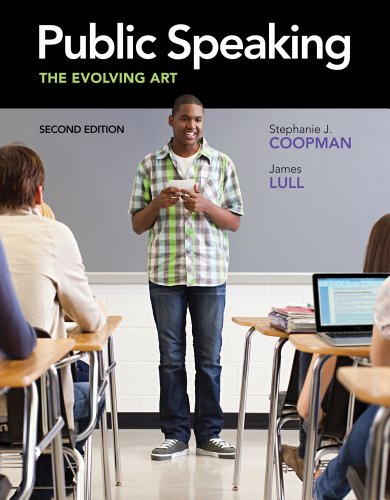 Public Speaking: The Evolving Art (with CourseMate with...