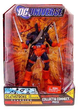 Buy Low Price Mattel DC Universe Classics Action Figure Wave 3 Deathstroke (No Mask) (B001YQUFQI)