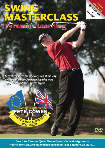 Pete Cowen Pyramid of Learning (An Advanced Swing Lesson) DVD Video