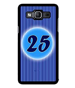 Fuson 2D Printed Numerology Designer back case cover for Samsung Galaxy On5 - D4245