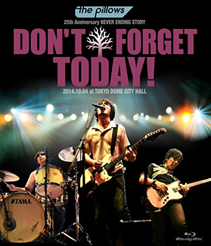 "the pillows 25th Anniversary NEVER ENDING STORY ""DON'T FORGET TODAY!""2014.10.04 at TOKYO DOME CITY HALL (Blu-ray)"