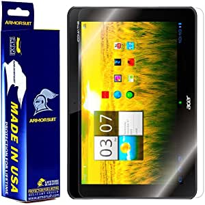 Armorsuit MilitaryShield - Acer Iconia Tab A200 Tablet Screen Protector Shield + Lifetime Replacements